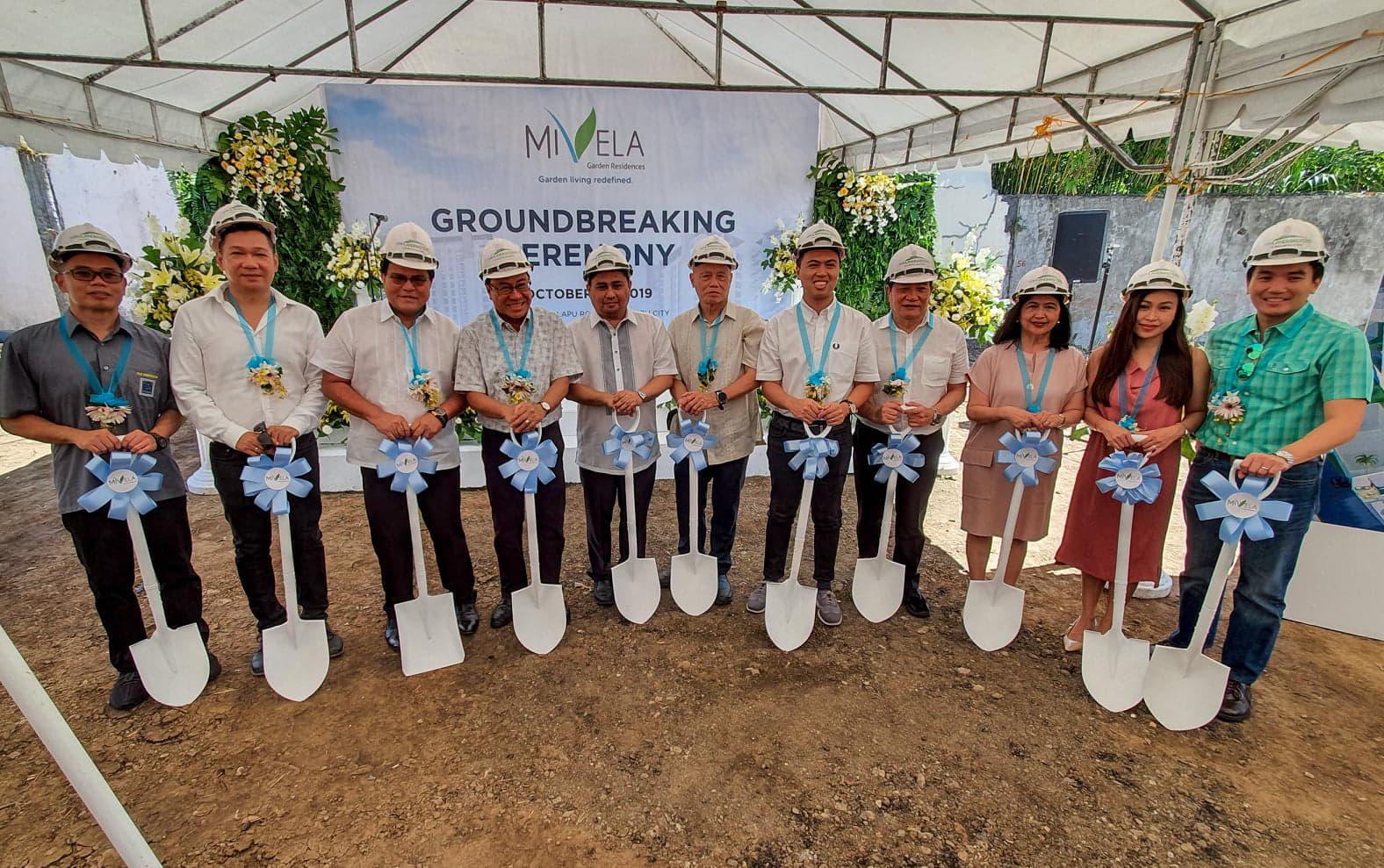 Cebu Landmasters Mivela Garden Residences Groundbreaking